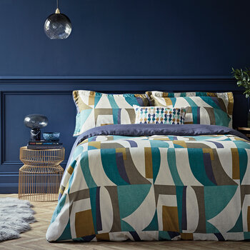 Bodega Duvet Cover - Marine - Single