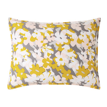 Cutout Floral Standard Pillowcase