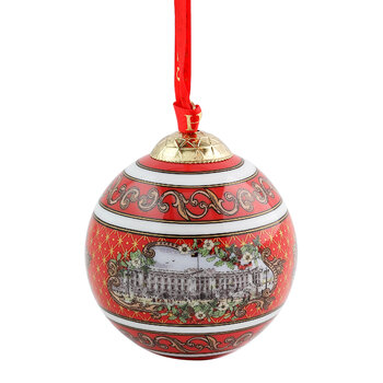 Buckingham Palace Bauble - Red