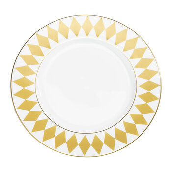 Parterre Charger Plate - Gold