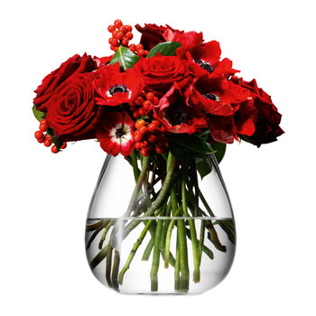 Flower Table Bouquet Vase - 17cm