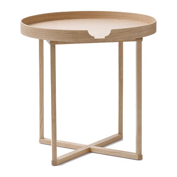 Damien Table Round - Oak/Oak