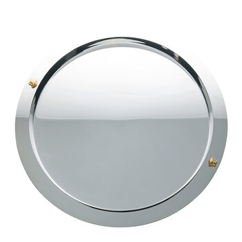 Bar Stainless Steel Round Tray