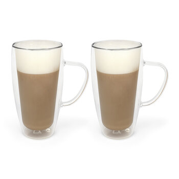Double-Walled Coffee/Tea Glass - Set of 2