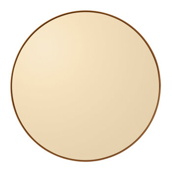 Circum Wall Mirror - Small - Amber