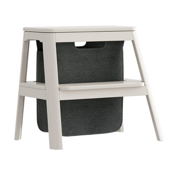 Step It Up Stool - Pearl White