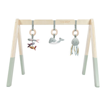 Wooden Baby Gym - Ocean Mint