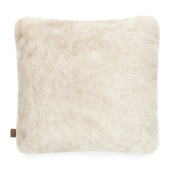 Firn Faux Fur Pillow - Natural - 50x50cm