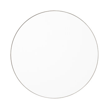 Circum Round Wall Mirror - Grey
