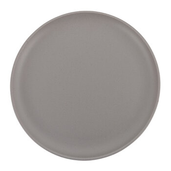 Rustic Look Glazed Dinner Plate - Set of 4 - Gray