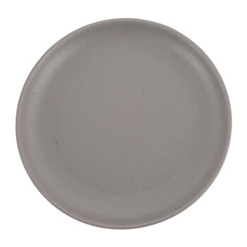 Rustic Look Glazed Side Plate - Set of 4 - Gray