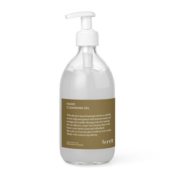 Hand Cleansing Gel - Clear
