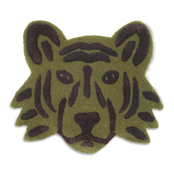 Tufted Tiger Head - Green