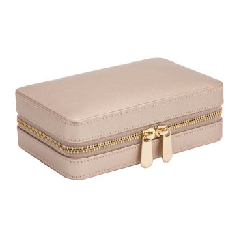 Palermo Zip Jewellery Case - Rose Gold