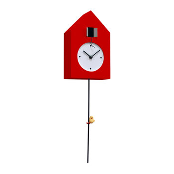 Freebird Tarzan Wall Clock - Red