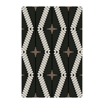 Patterned Vinyl Floor Mat - 99x150cm