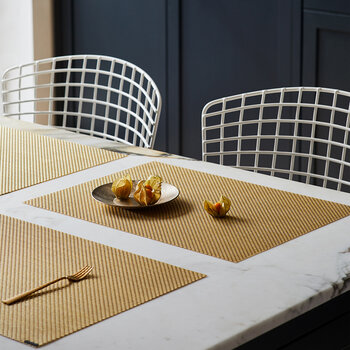 Basketweave Rectangle Placemat - Gilded