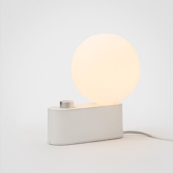 Alumina Table Lamp with Sphere IV - Chalk