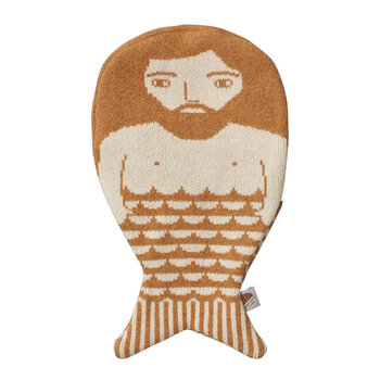 Merman Hot Water Bottle - Harvest