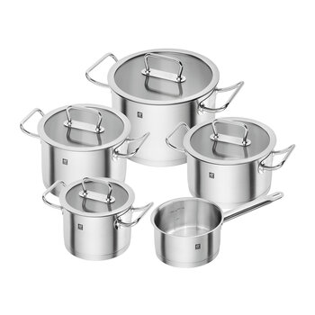 Zwilling Pro Pot Set - Stainless Steel 5 Piece