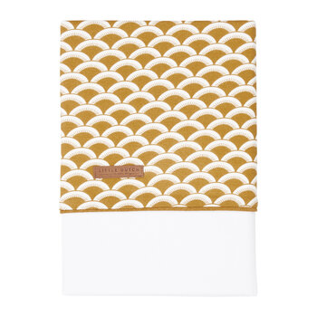 Cot Sheet - Sunrise - Ochre