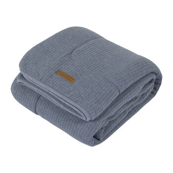 Pure & Soft Cot Blanket - Pure Blue