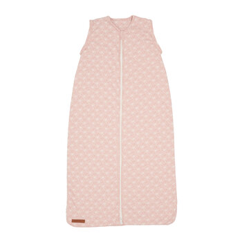 Summer Sleeping Bag - Lily Leaves - Pink