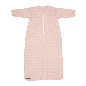 Winter Sleeping Bag - Lily Leaves - Pink