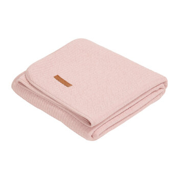 Cot Summer Blanket - Pure Pink