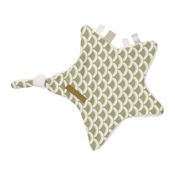 Cuddle Cloth - Star - Sunrise - Olive