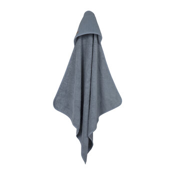Hooded Towel - Pure Blue