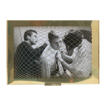 Raute Patterned Photo Frame