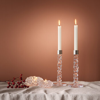 Carat Candlestick - Set Of 2 - Clear