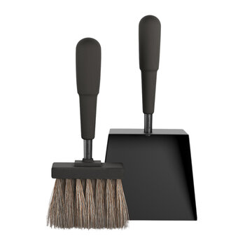 Shovel and Brush Set - Black