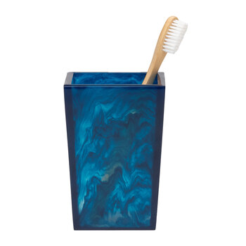 Abiko Brush Holder - Cobalt