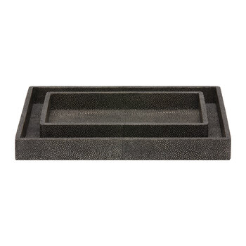 Tenby - Cool Grey - Nested Trays - Set of 2