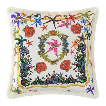 Tresors De La Mer Pillow - 45x45cm - White/Multi