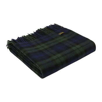 Lambswool Blackwatch Tartan Throw
