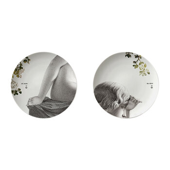 Porcelain Parnasse Set of 2 - Summer
