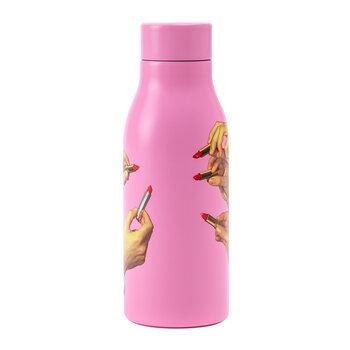Printed Thermal Bottles - Pink Lipsticks