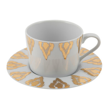 Uzbec Teacup - Gold
