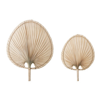 Palm Leaf Wall Decor - Natural - 40x54cm