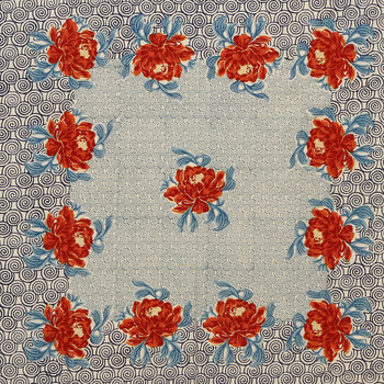 Roses Cotton Tablecloth