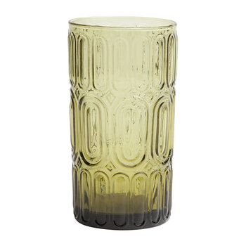 Aaron Highball Glass - Olive