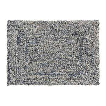 Zoey Raffia Placemat - Navy