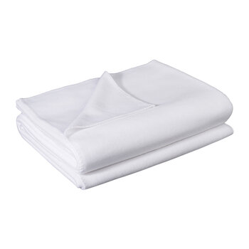 Soft Fleece Blanket - White