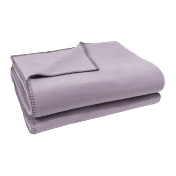 Soft Fleece Blanket - Pale Lavender