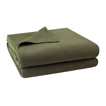 Soft Fleece Blanket - Olive Branch