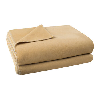 Soft Fleece Blanket - Camel