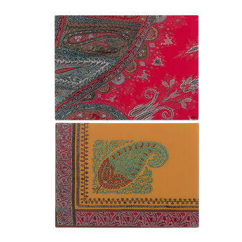 Voyage Au Rajasthan Placemat - Set of 2 - Multi Patterned